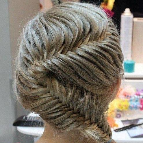 صور صور لطريقة تجديل الشعر