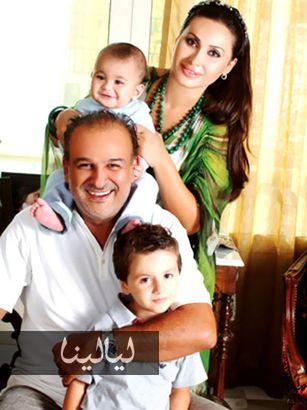 شاهد بالصور مجموعة كبيرة من الفنانين مع زوجاتهم و اولادهم