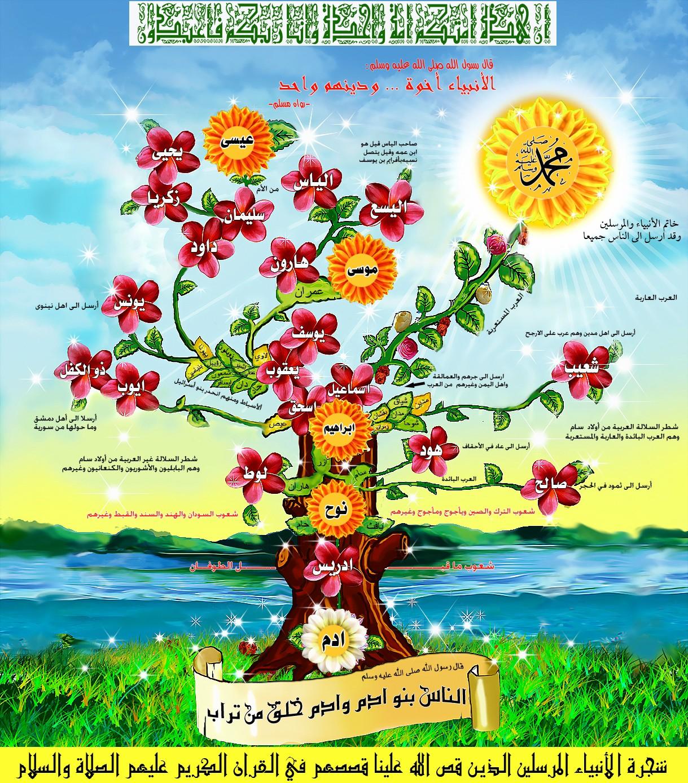 بالصور معلومات عن شجرة الانبياء والرسل 09d233b72041a356be2f0c745eba1293