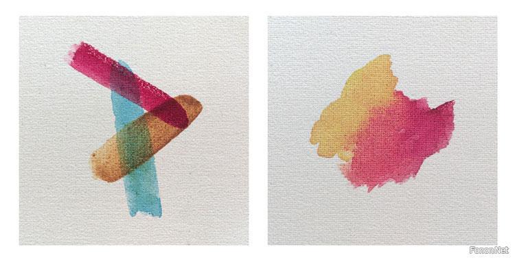 ادوات الرسم و تقنياتها: اسطح الرسم