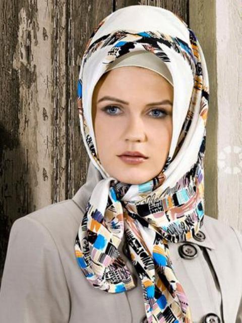 بالصور احدث صور لفات الحجاب الخليجى و التركي 0debdc2436332e3241953fccfb283b76