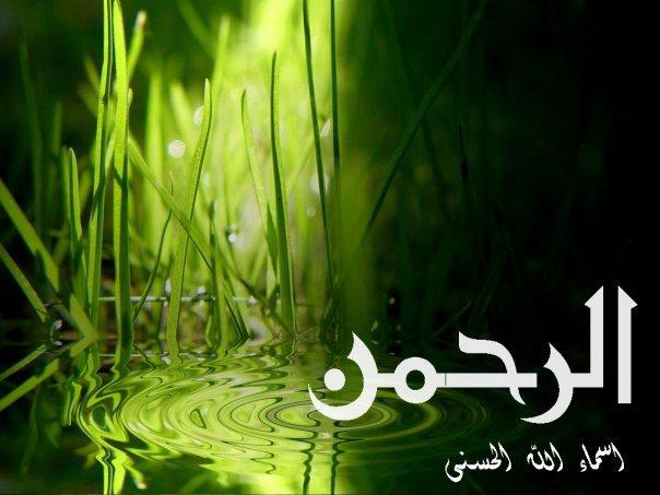 صور معنى اسم الرحمن الرحيم