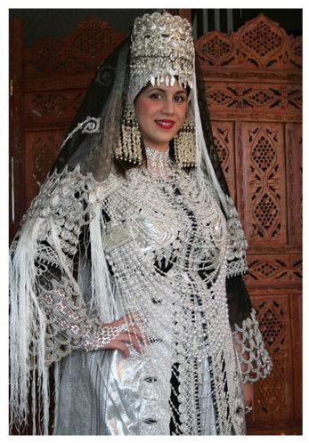 صور ملابس تقليدية تلمسانية