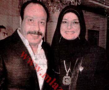 صوره الفنان خالد صالح وزوجته