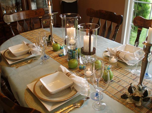 صوره اصول تنسيق مائدة الطعام بالصور