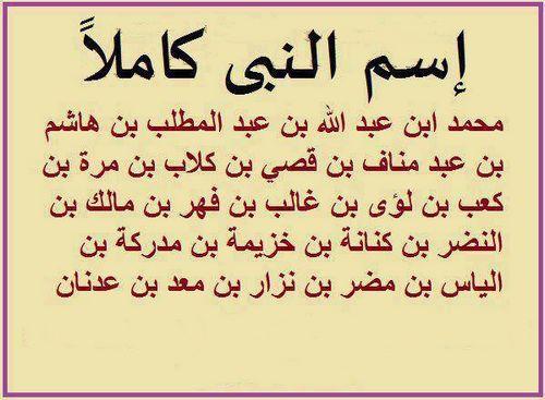 صور اسم رسول الاسلام بالكامل