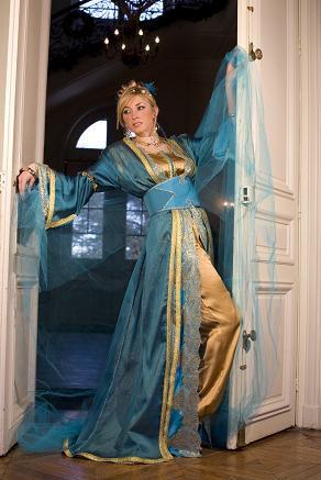 صور صور روعة الجمال للقفطان المغربي