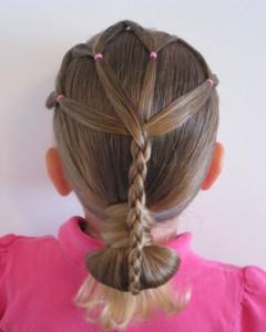 صوره تسريحات شعر للاطفال للعيد بالصور
