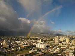 مدينة ما لولان فجزيرة هاواي