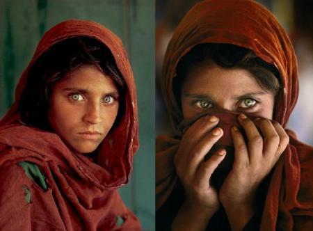 صوره صورة الفتاة الافغانية شربات جولا