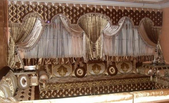 صوره صالونات مغربية تقليدية وعصرية
