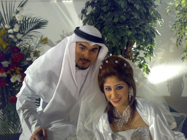 صوره زواج الفنانه شجون الهاجري