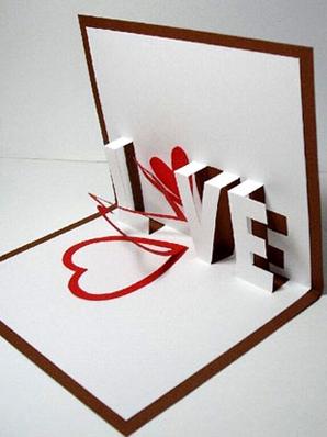 صوره اجمل بطاقات ثلاثية الابعاد