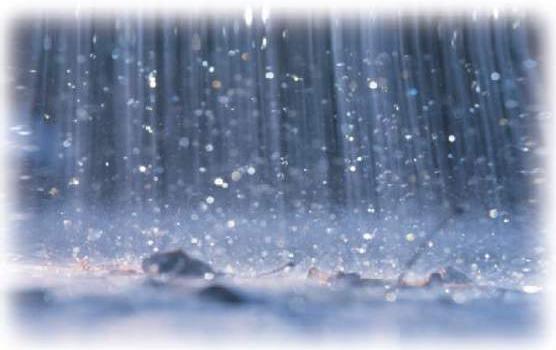 صوره اية قرانية عن المطر