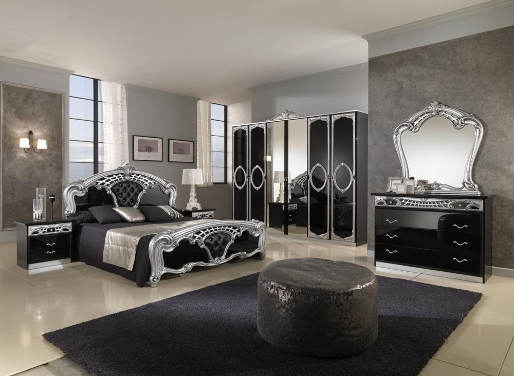 صوره غرفة نوم لون اسود