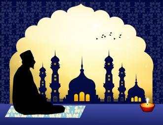 صوره صيغ التحيات اثناء الصلاة