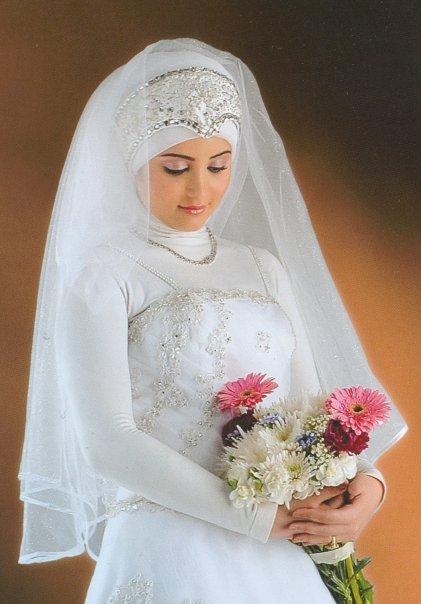 صوره اجمل صور عروسه محجبه