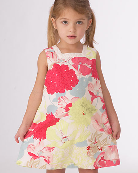 صور اجمل الصور لفساتين الاطفال