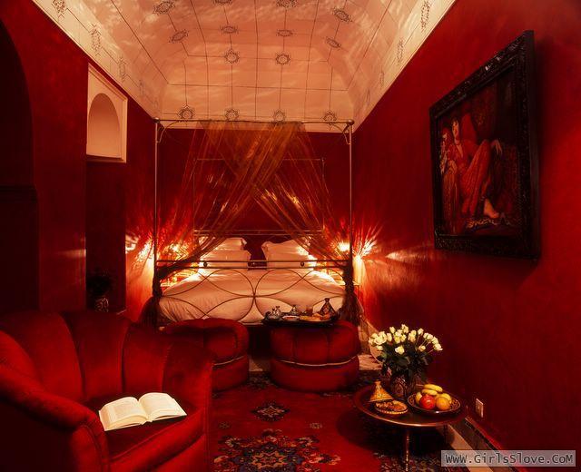 صوره غرف نوم حمراء للمتزوجين