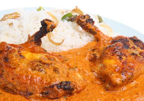 صوره دجاج على الطريقة الهندية
