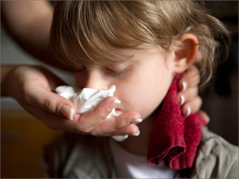 صوره سبب نزيف الانف عند الاطفال