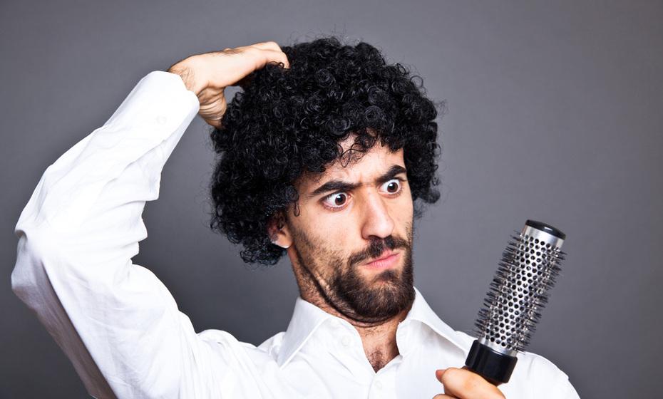 صورة حل مشكلة الشعر الخشن للرجال