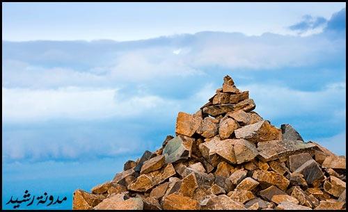 صوره لا تحقرن صغيرة ان الجبال من الحصى
