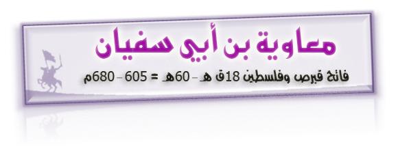 صور دهاء معاوية بن ابي سفيان