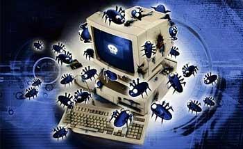 صوره البحث عن الفيروسات و كيفية ازالتها