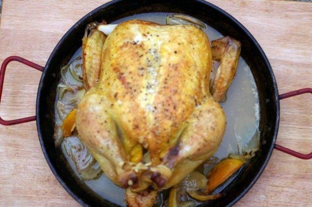 صوره طريقة تتبيل الدجاج المشوي بالفرن