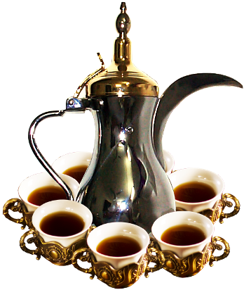 صوره شعر في القهوة العربية تعتبر من رمز الضيافة العربية عند العرب