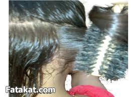 طريقة فرد الشعر في البيت و بالصور يابنات(فرد ايطالى(