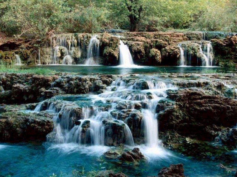 صوره صور خلفيات شلالات طبيعية