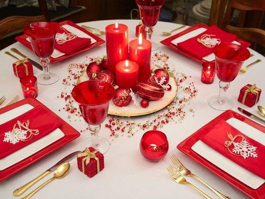 صوره اروع ديكورات مائدة الطعام