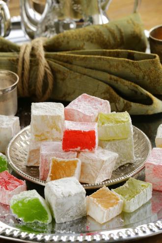 صورة طريقة عمل حلوى راحة الحلقوم