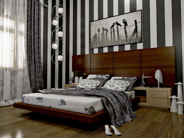 صور الوان حوائط غرف نوم