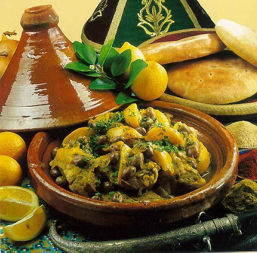 صوره طريقة مجربة لتحضير الطاجين المغربي