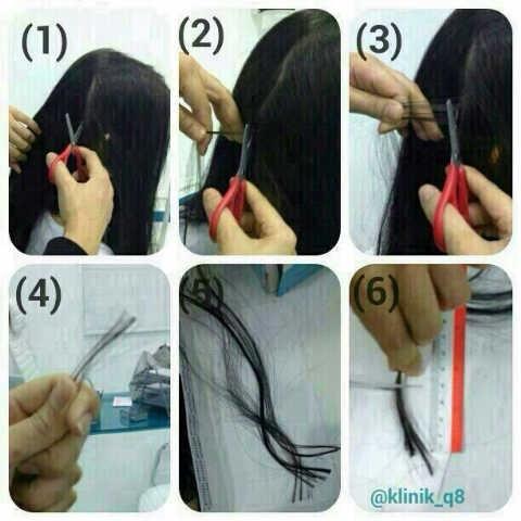 صور تحليل المعادن عن طريق الشعر