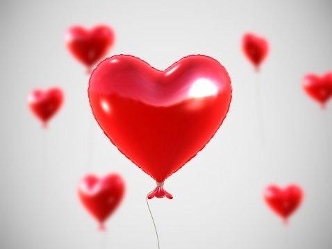 صوره صور قلب احمر جميل