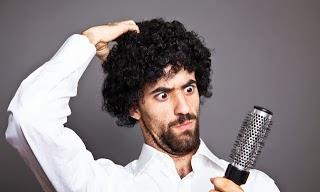 صورة طريقة لتنعيم الشعر الخشن للرجال