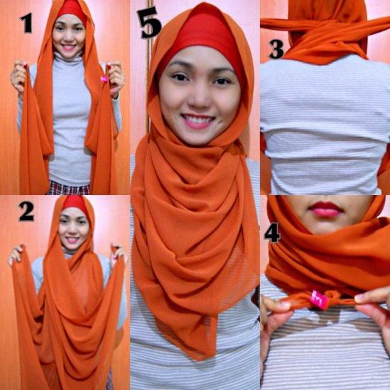 بالصور طرق لبس الحجاب 90e078029847f8d1b8c608d036083add