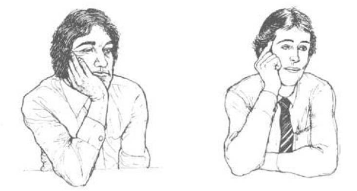 صور لماذا نهى الرسول عن وضع اليد على الخد
