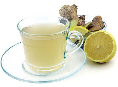 صوره وصفة الشاي الاخضر والزنجبيل للتنحيف