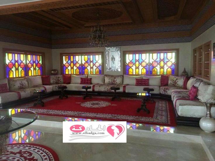 صوره احدث موديلات الصالونات المغربية العصرية