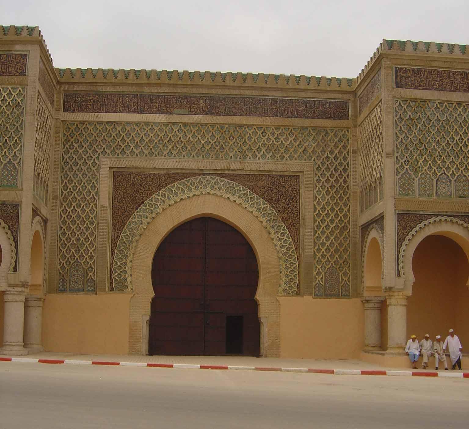 صور باب منصور مكناس بالمغرب