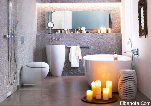 صور افكار جديده لحمامات المنزلية الصغيرة