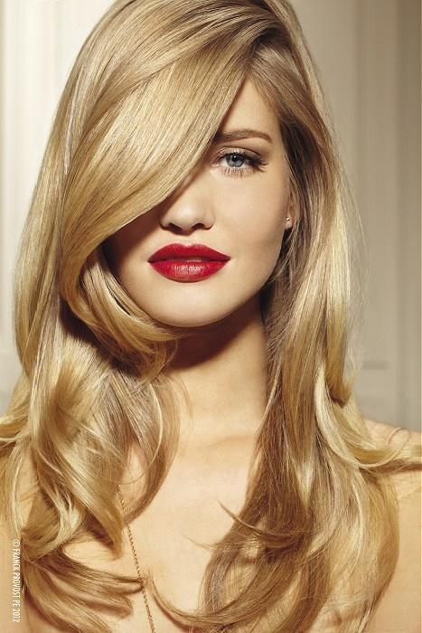 صوره وصفات طبيعية لتلوين الشعر باللون الاشقر