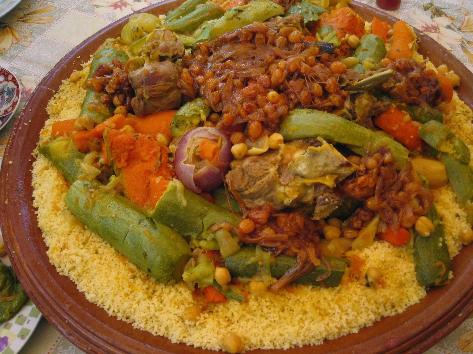 صوره طريقة تحضير الكسكسى المغربى
