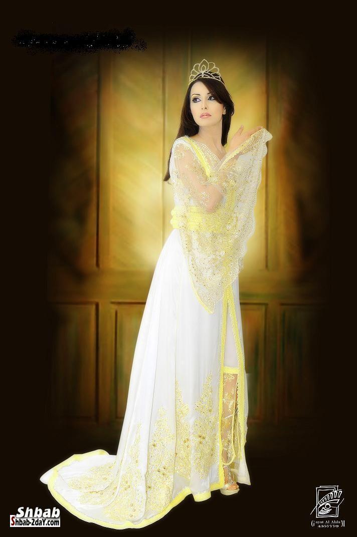 صوره ملابس اعراس جزائرية 2017