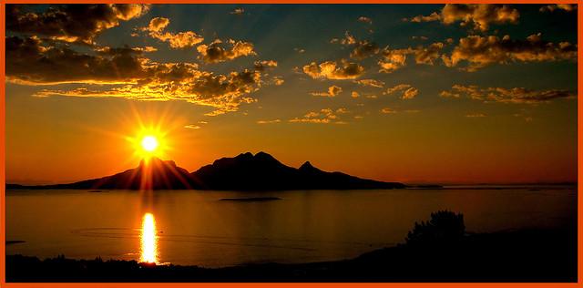 صوره غروب الشمس بالصور روعه